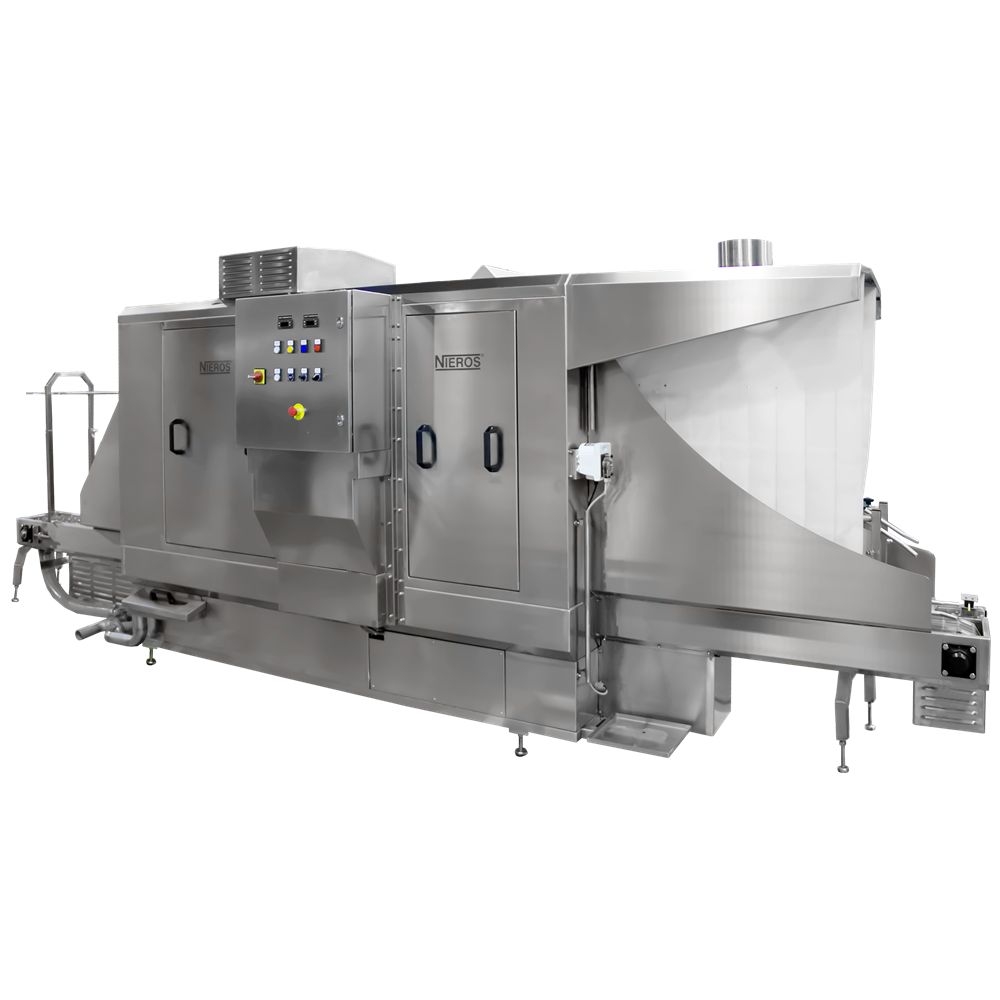 Industrial washing machine systems