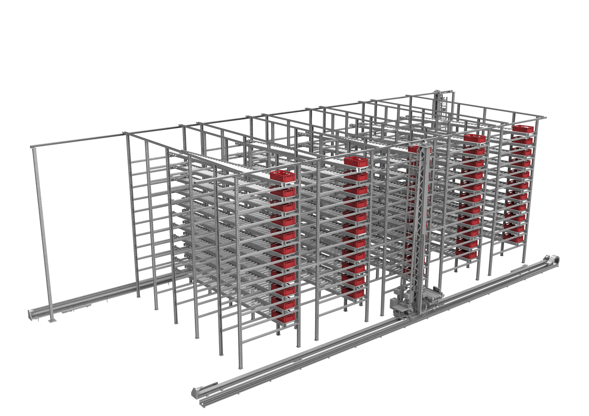 Fully Automated Warehouse